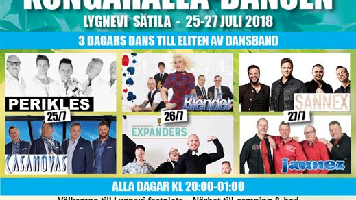 Bild för Kongahälladansen 2018, 2018-07-25, Lygnevi Loge