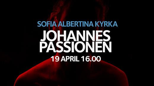 Bild för Johannespassionen, 2019-04-19, Sofia Albertina kyrka