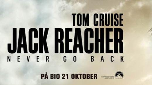 Bild för Jack Reacher 2: Never Go Back (15 år, 2h), 2016-10-23, Metropolbiografen