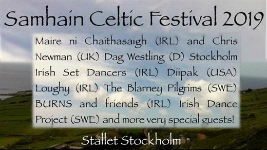 Bild för 191115 Samhain Celtic Festival, 2019-11-15, Stallet - Världens Musik