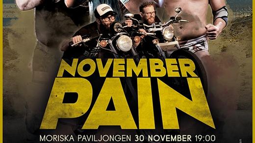 Bild för November Pain/Wrestling!, 2019-11-30, Moriska Paviljongen