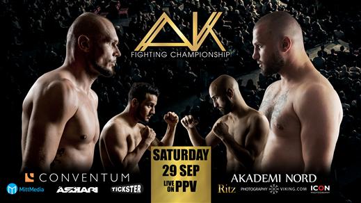 Bild för AK Fighting Championship 1 - MMA GALA, 2018-09-29, Conventum Kongress