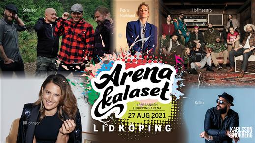 Bild för ArenaKalaset Lidköping 2021, 2021-08-27, Sparbanken Lidköping Arena
