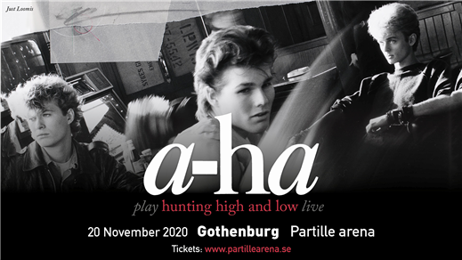 Bild för A-ha - Hunting High and Low Live, 2020-11-20, Partille arena