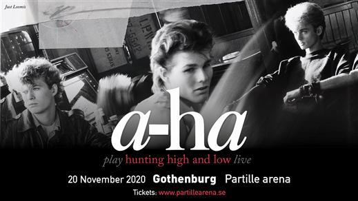 Bild för A-ha - Hunting High and Low Live, 2021-04-16, Partille arena