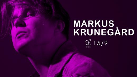 Bild för Markus Krunegård på Liljan, 2018-09-15, Liljan