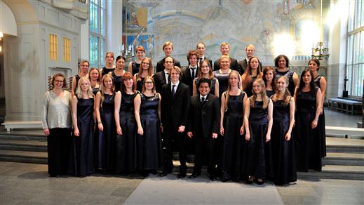 Bild för Vårkonsert Tyresö Vokalensemble, 2018-06-17, Tyresö Kyrka