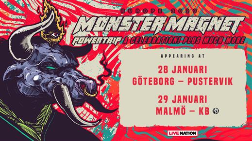 Bild för Monster Magnet, 2020-01-28, Pustervik