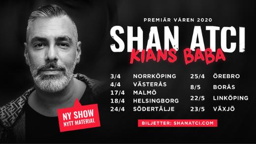Bild för SHAN ATCI - KIANS BABA - VÄSTERÅS, 2020-09-18, Västerås - Culturen