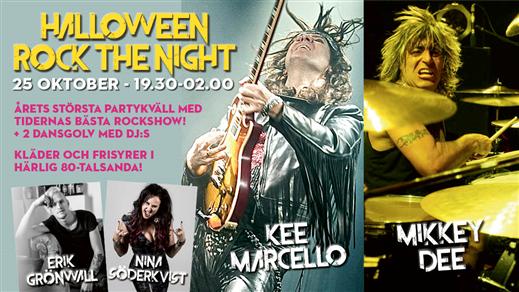 Bild för Halloween rockkväll med Rock the Night, 2019-10-25, Åhaga