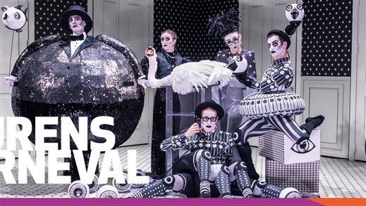 Bild för DJURENS KARNEVAL PROD, 2021-10-11, Teatersalongen i Spira