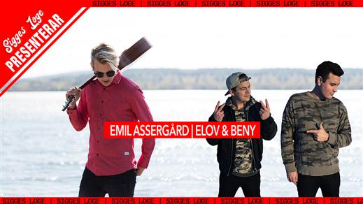 Bild för Emil Assergård   Elov & Beny, 2018-06-02, Sigges Loge
