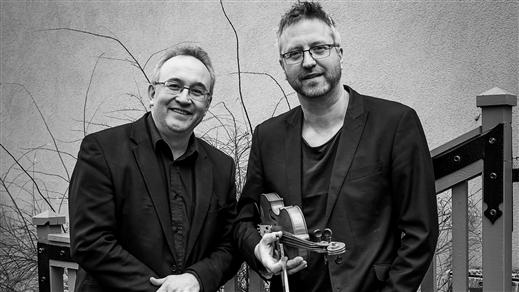 Bild för Robert & Jörgen 16/3 kl. 12:00, 2018-03-16, Caféscenen, Västerbottensteatern