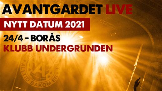 Bild för Avantgardet + Support Live på Klubb Undergrunden, 2021-04-24, Klubb Undergrunden