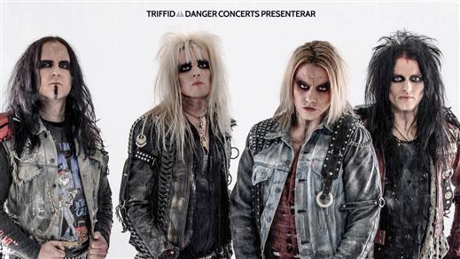Bild för CrashDïet - Live i Kristallbaren, 2019-11-15, Nöjesfabriken
