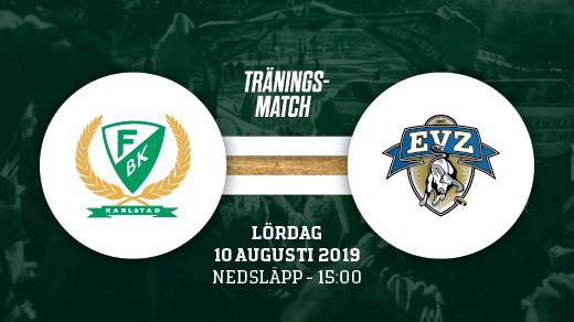 Bild för FÄRJESTAD BK - EV ZUG, 2019-08-10, Löfbergs Arena