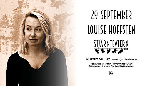 Bild för Louise Hoffsten, 2018-09-29, Stjärnteatern