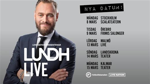 Bild för LUNDH LIVE - OLOF LUNDH PÅ PODTURNÉ, 2021-03-09, Frimis Salonger Örebro