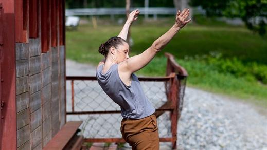 Bild för Guidad dansvandring vid Häfla hammarsmedja, 2021-07-03, Häfla Hammarsmedja