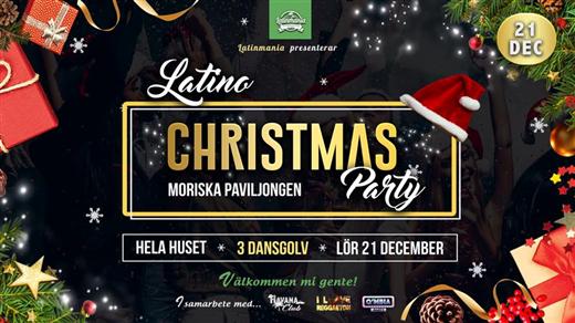 Bild för LATINO JUL PARTY!, 2019-12-21, Moriska Paviljongen
