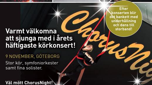 Bild för ChorusNight 2019, 2019-11-09, Råda Rum
