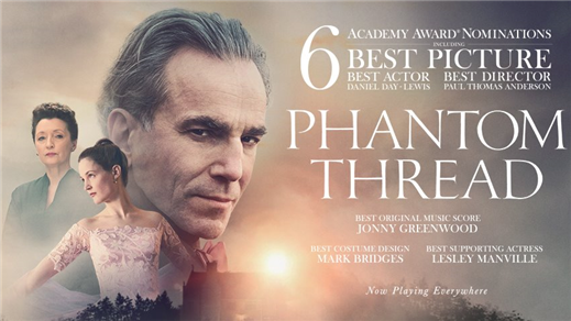Bild för Phantom Thread, 2018-05-22, Metropolbiografen