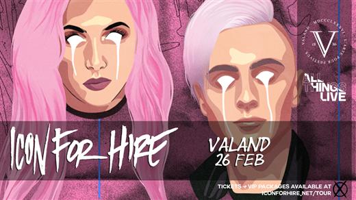 Bild för Icon For Hire + Support, 2020-02-26, Valand