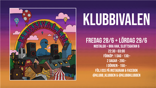 Bild för KLUBBEN - KLUBBIVALEN, 2019-06-28, Nostalgii Functional Club