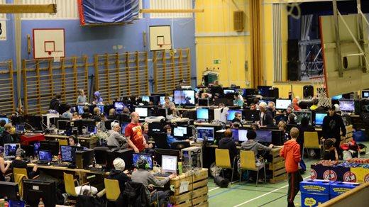 Bild för HögsbyLAN 2014, 2014-02-15, Högsby Sporthall