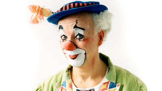 Bild för Clownen Manne, äntligen här!, 2017-03-25, Stadsbiblioteket Biograf Fokus