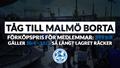 Malmö away - tåg