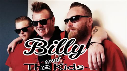 Bild för Billy and The Kids 28/1 2017!, 2017-01-28, The Southside Cavern, Pub Southside