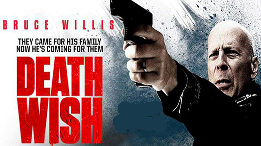Bild för Death Wish (15 år), 2018-04-15, Biosalongen Folkets Hus