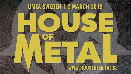 Bild för House of Metal 2019, 2019-03-01, Umeå Folkets Hus