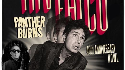 Bild för Tav Falco & Panther Burns (US) + The Long Chaneys, 2019-12-06, Folk Å Rock