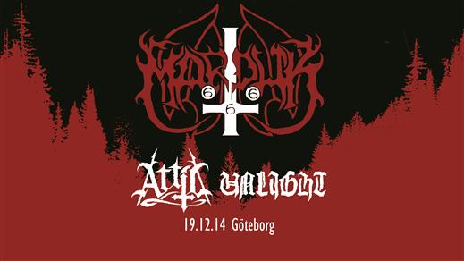 Bild för Marduk, Attic, Unlight i Göteborg, 2019-12-14, Sticky Fingers