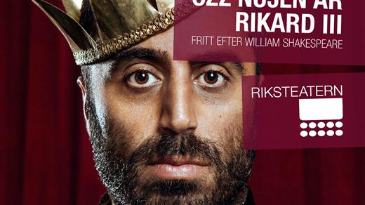 Bild för Özz Nûjen är RIKARD III, 2017-04-11, Kulturhuset Glada Hudik