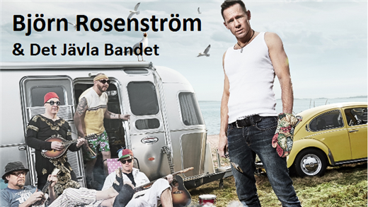 Bild för Björn Rosenström & Det Jävla Bandet, 2016-08-26, Långnäsparken Bollnäs