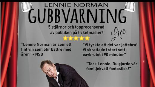 Bild för Lennie Norman – Gubbvarning Live, 2020-03-05, Kulturhuset Finspång, Galaxen