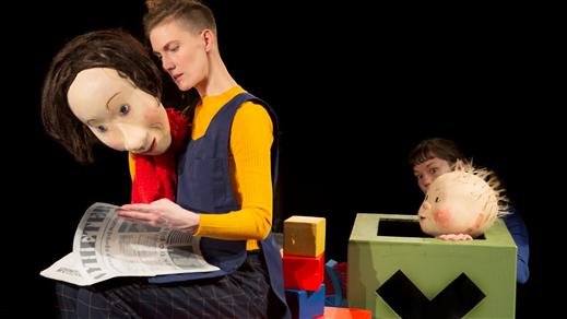 Bild för Vilda Bebin & Mamman, 2021-02-20, Teaterkaféet, Hjalmar Bergmanteatern