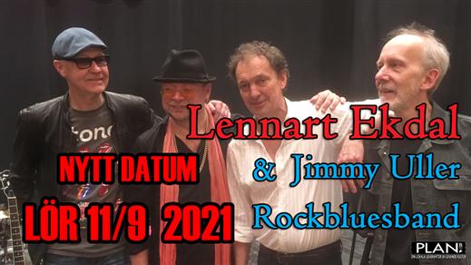 Bild för LENNART EKDAL & JIMMY ULLER BAND, 2021-09-11, Plan B