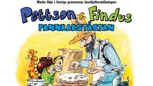"""Bild för Pettson & Findus """"PANNKAKSTÅRTAN"""", 2018-04-30, Väven"""