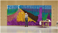 Hockney: Landscape, Portraits and one still Life