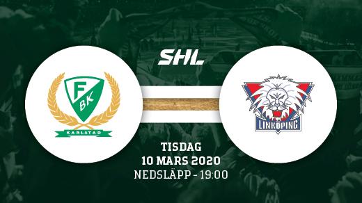 Bild för FÄRJESTAD BK - LINKÖPING, 2020-03-10, Löfbergs Arena