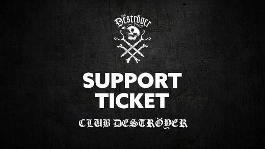Bild för Deströyer Support, 2020-03-26, Club Deströyer