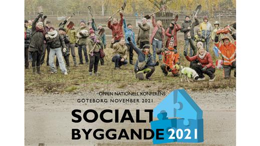 Bild för Socialt Byggande 2021, 2021-11-18, Garveriet, Floda
