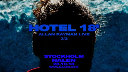 Bild för Allan Rayman, 2018-11-28, Nalen - Klubb