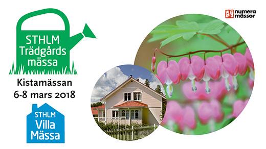Bild för STHLM Trädgårdsmässa & STHLM Villamässa, 2018-04-06, Kistamässan