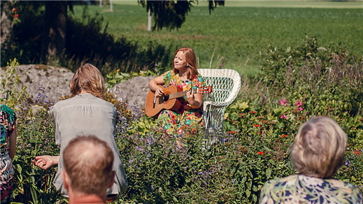 Bild för I tregålin, 2021-10-23, Sara Kulturhus Trappscenen