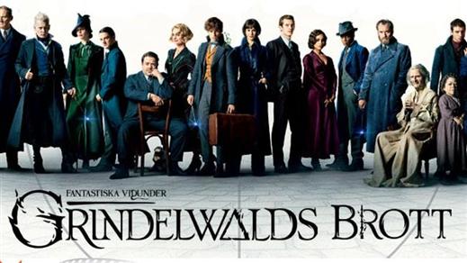 Bild för Fantastiska vidunder: Grindelwalds brott, 2018-11-17, Biosalongen Folkets Hus